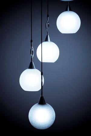 Hermoso chandelier aislado