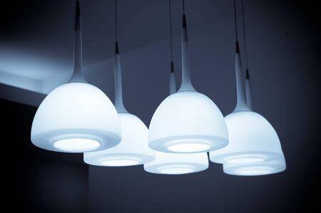 chandelier isolated: Beautiful chandelier isolated  Stock Photo