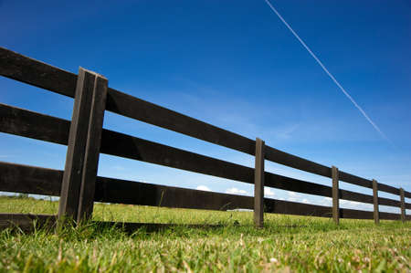 Wooden fence of Amsterdam,netherland Stock Photo - 8370716