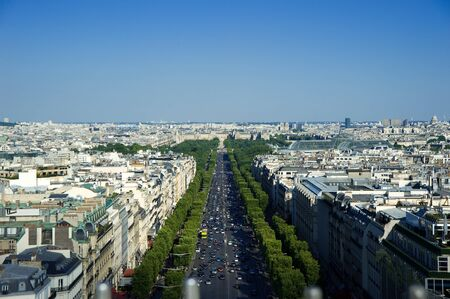 champs elysees quarter: Champs Elysee Paris  Stock Photo