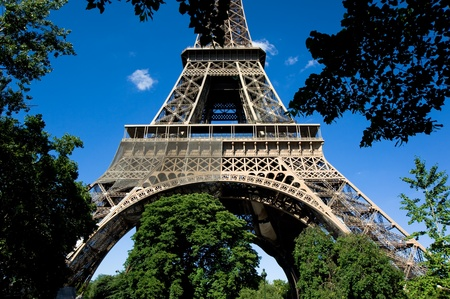View of Eiffel Tower in Paris, France Stock Photo - 11613919