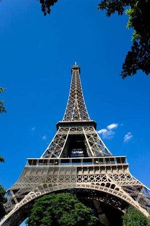 View of Eiffel Tower in Paris, France  Stock Photo - 11613913