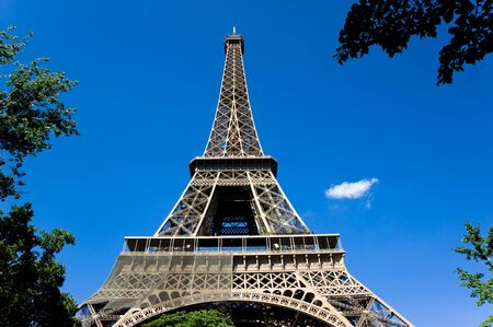 View of Eiffel Tower in Paris, France Stock Photo - 11613914
