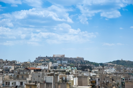 Panoramic view of Athens  photo
