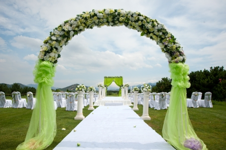 Wedding decoration photo