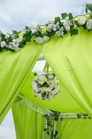 wine and dine: Wedding decoration