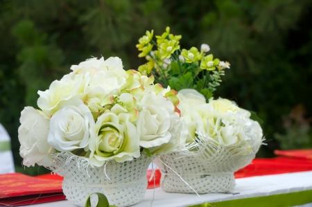 setup: Wedding decoration