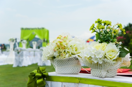 Wedding reception overview Stock Photo - 11611992