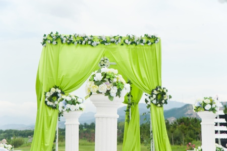 Wedding decoration overview  Stock Photo - 11611982
