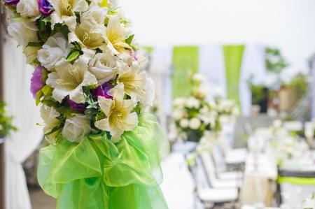 function: Outdoor wedding flowers