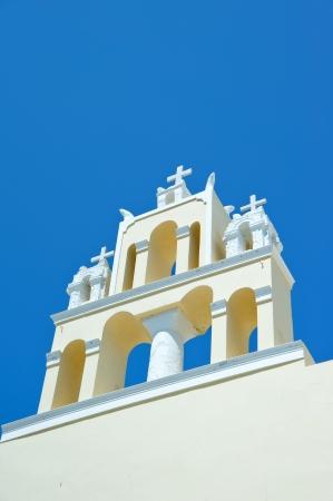 Santorini church  Firostefani  - vacation background Stock Photo - 15358282