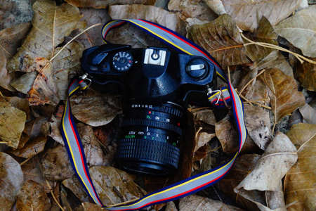 Vintage Camera Photo Stock Photo
