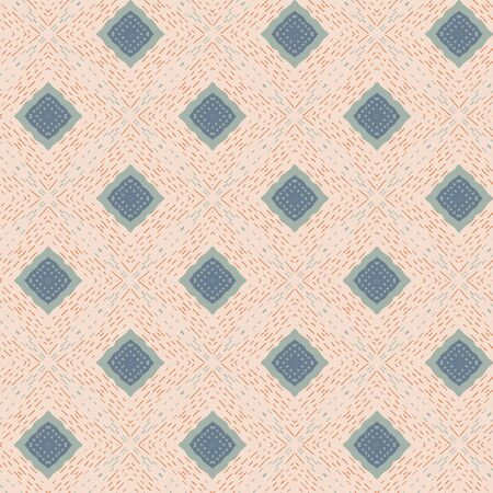 Abstract seamless pattern design composition. Wallpaper, background. Eps 10 Vetores