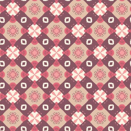 Abstract seamless pattern design composition. Wallpaper, background. Eps 10