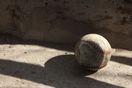 The ball in the shade