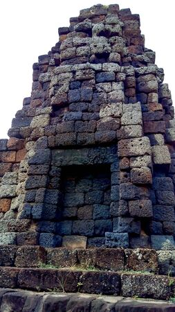 Stone castle of old temple