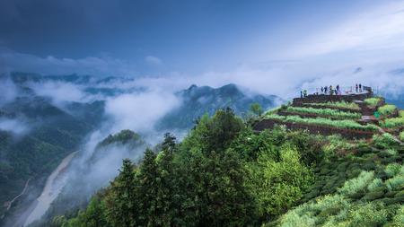 China Huangshan City County sokdam scenery