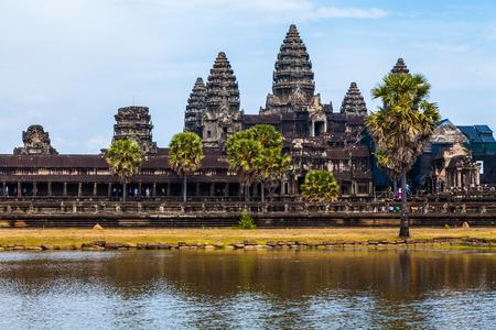 kampuchea: Angkor Wat in Kampuchea, Asia