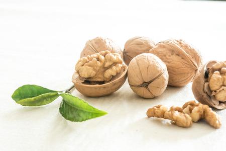 Walnuts and Walnut Standard-Bild