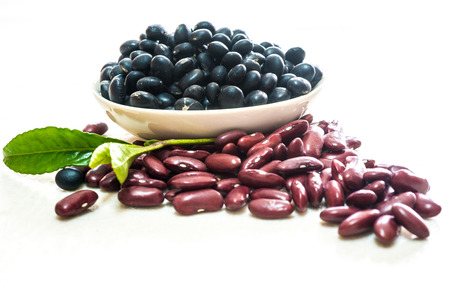 multiple objects: Kidney beans