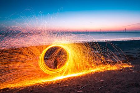 viento: Paisaje Playa de China