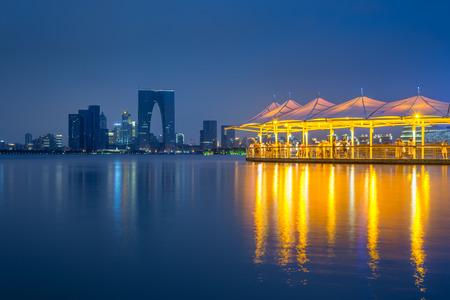 China Jinji Lake in Suzhou