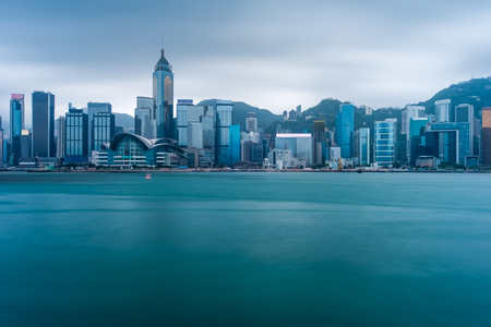 Cityscape in HongKong,China