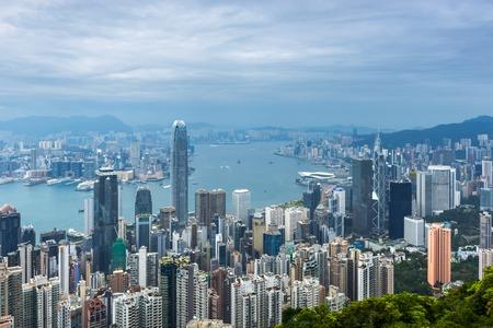 Cityscape in Hong Kong,China