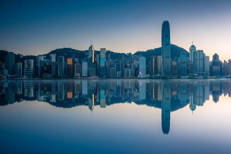 Cityscape in HongKong,China