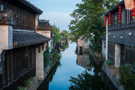 Scenic view in a historical town in China