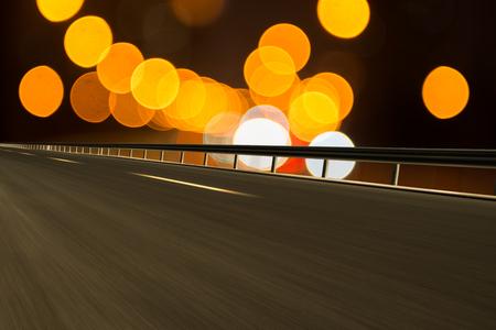 City light highway concept map 版權商用圖片