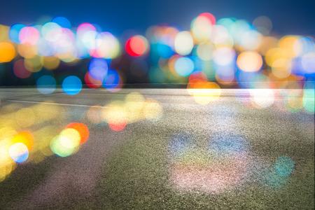 City light in bokeh