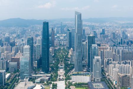 Guangzhou beautiful city scenery