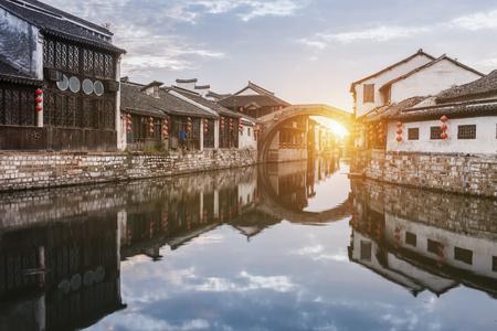 Nanxun ancient town, huzhou, zhejiang, China Standard-Bild