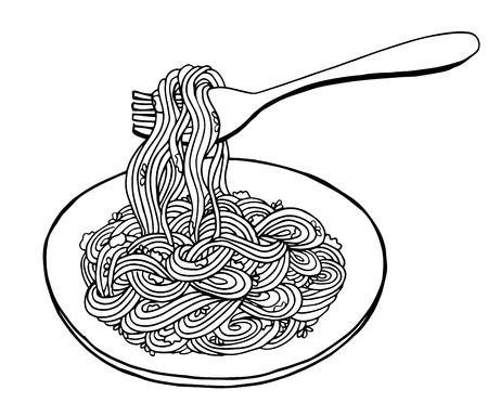 Doodle Noodle, rysunek odręczny