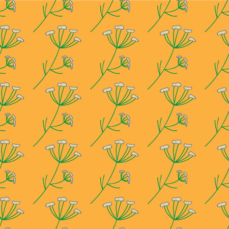 anise: Seamless anise herb vintage pattern.