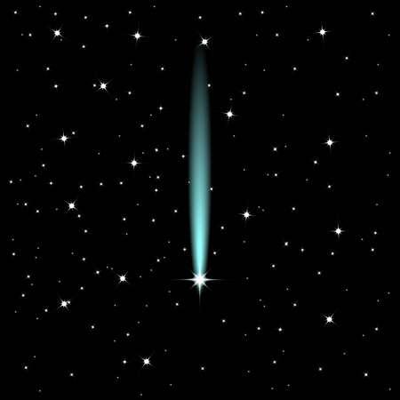 ambience: Shooting star Illustration