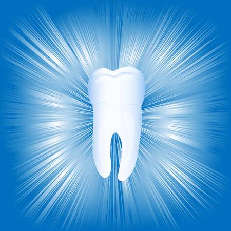 calcium: Tooth, illustration,