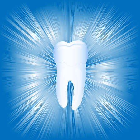 Tooth, illustration,