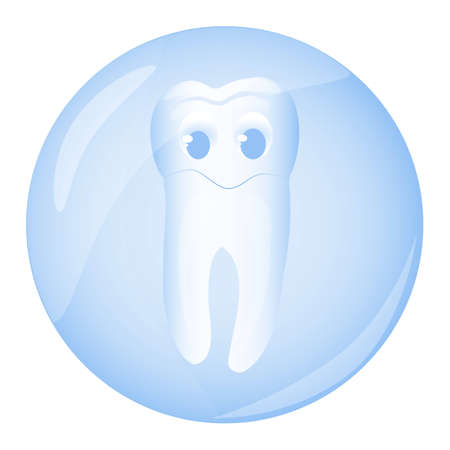 Tooth, illustration,  Vector