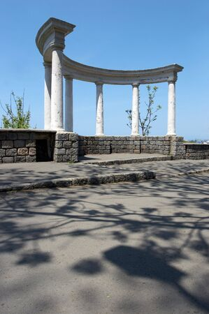 Ancient city structure with columns Stock Photo - 450032