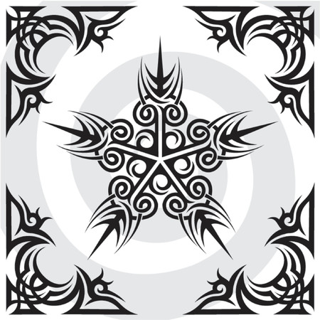 pentagram: illustration