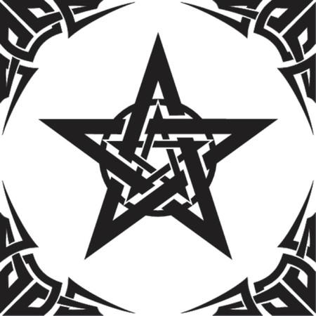 occult: vector illustration Illustration