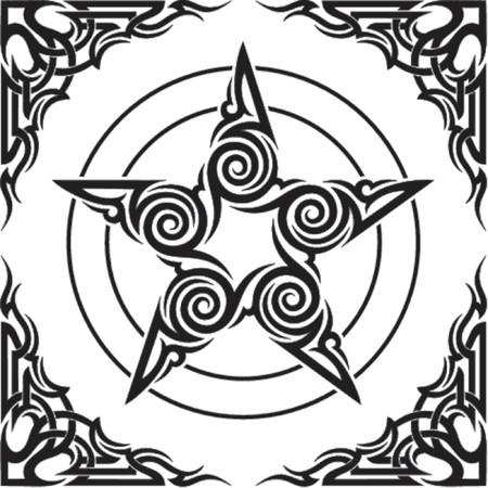occult: ilustraci�n del vector