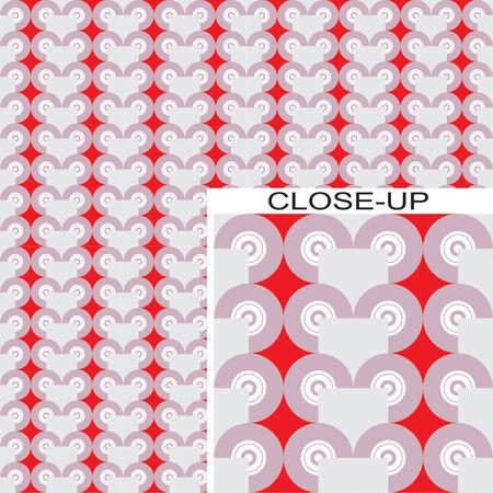 Seamless vector design element, retro wallpaper Stock Vector - 866255