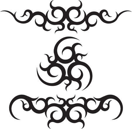 vector ornament In tribal style Vector