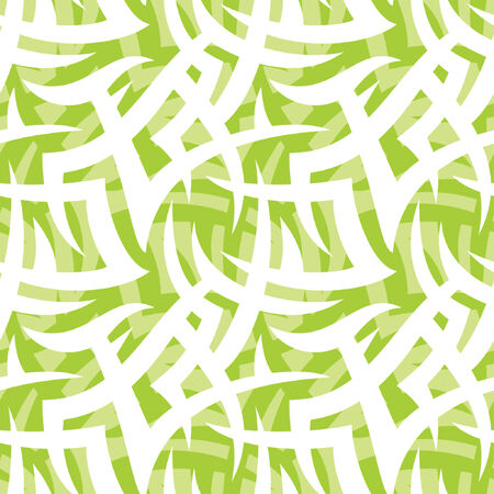 Seamless background with abstract ornament, wallpaper, camouflage Vector
