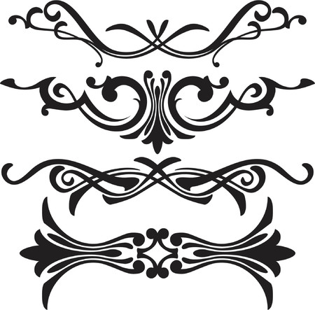 vector ornament In flower style Stock Vector - 979453