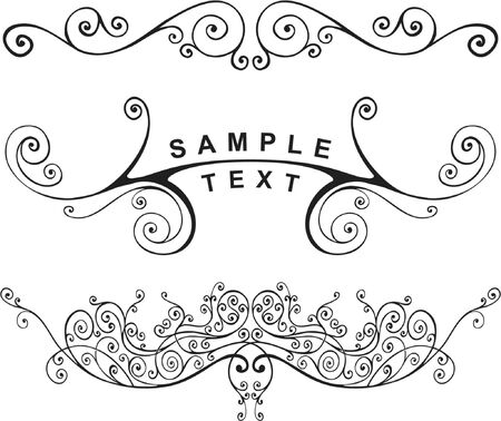 vector ornament In flower style Stock Vector - 1029128