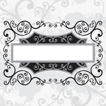 vector ornament In flower style Stock Vector - 1029133